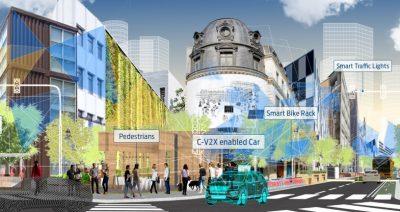 Ford skrbi, da so senzorji samovozečega avtomobila brezhibno čisti