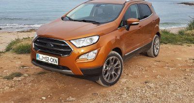 Ford ecosport titanium 1.0 ecoboost od blizu