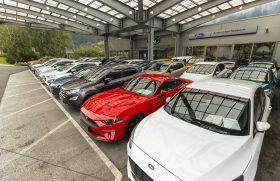 Fordove dneve smo začeli pri Avtomarketu Reberniku