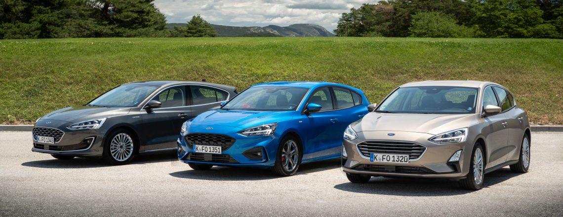 Za volanom novega Forda Focusa
