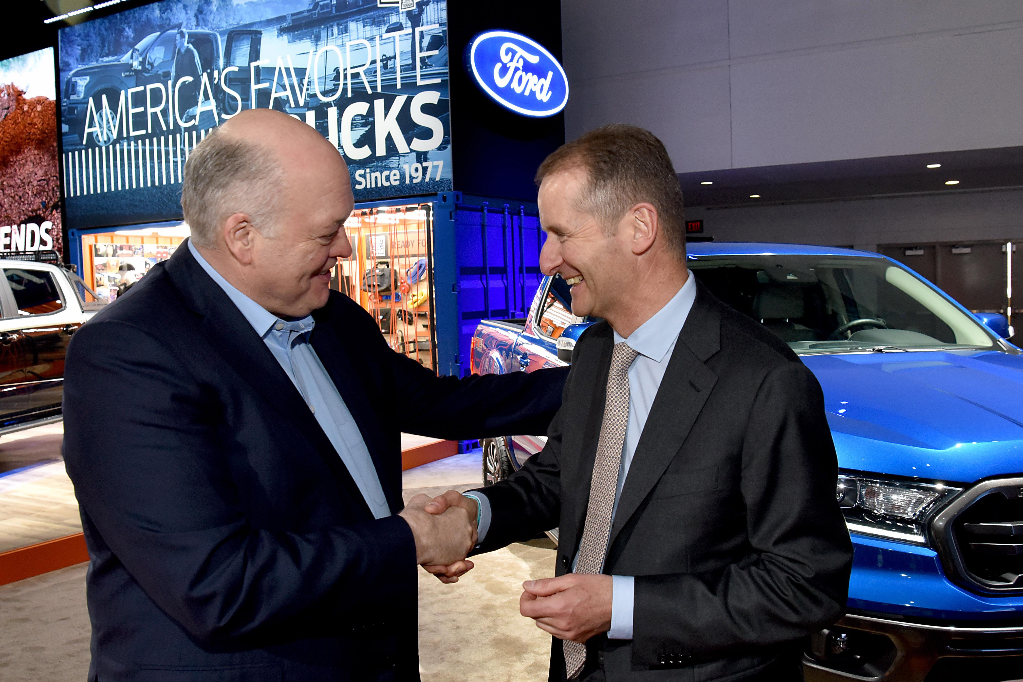 Ford in Volkswagen skupaj v razvoj novih modelov in tehnologij