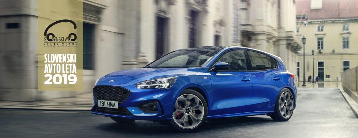 Ford Focus je Slovenski avto leta 2019