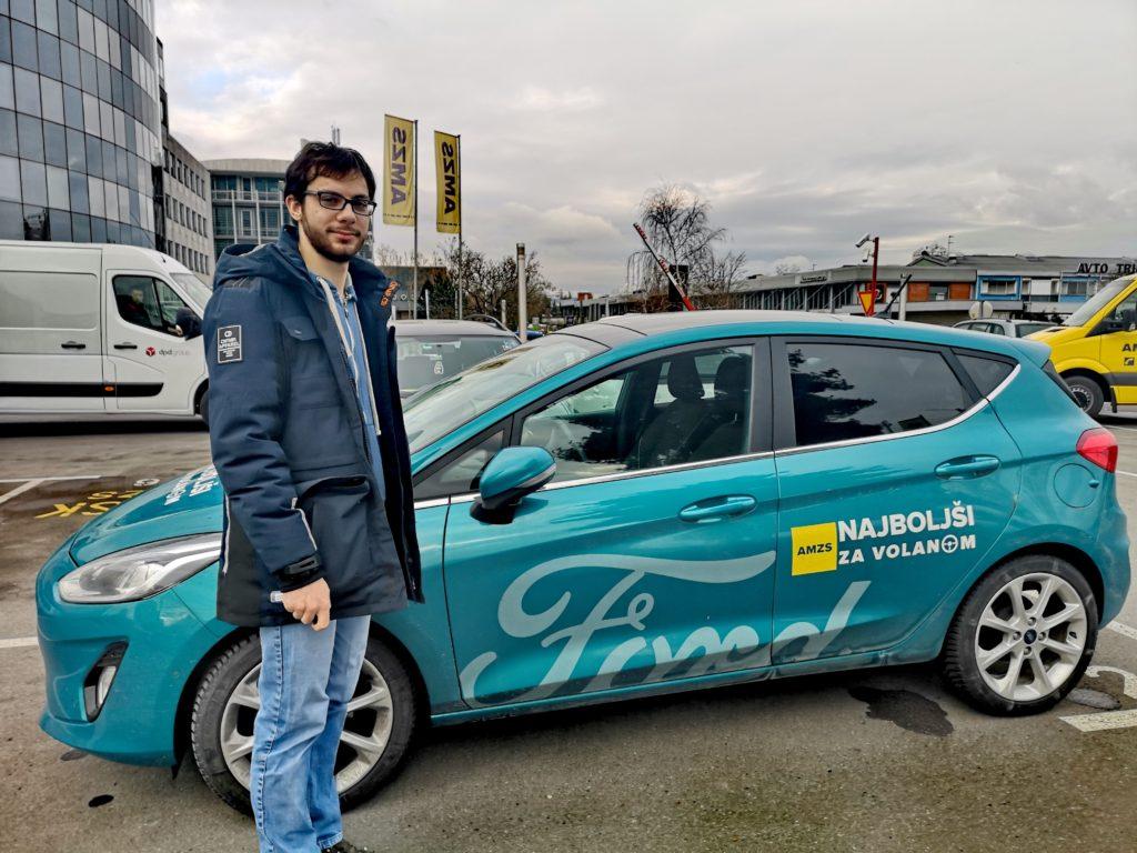 Intervju Klemen Pogračič: Telefon in volan ne gresta skupaj