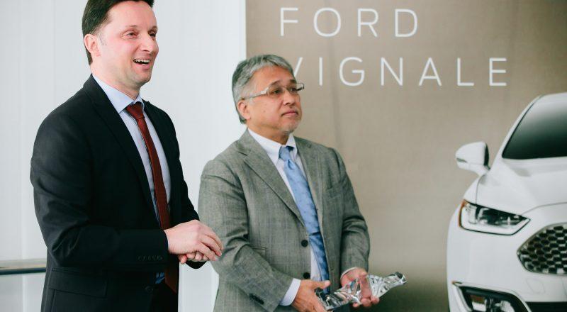 Avto Rajh je že petič Fordov trgovec leta