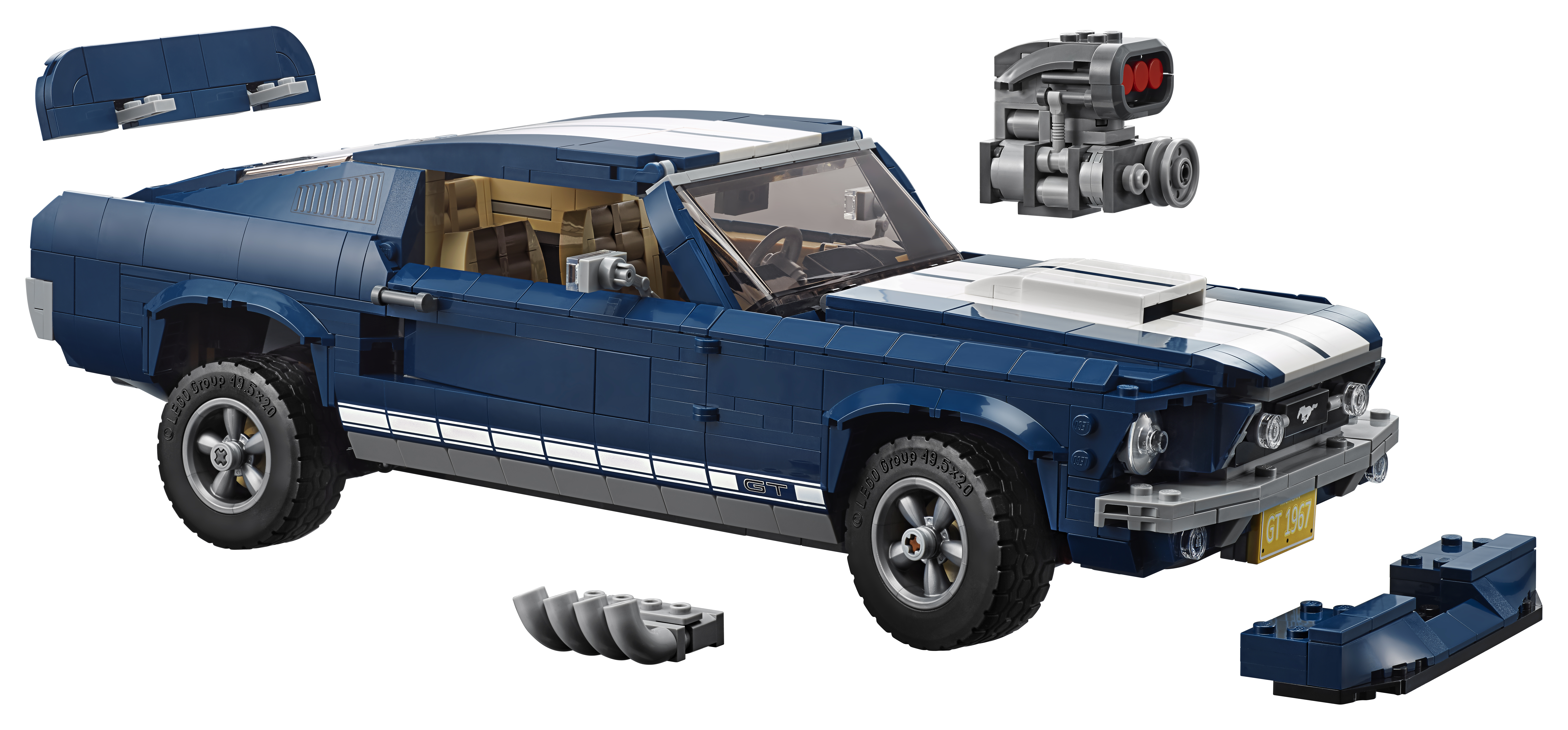 Lego® s Fordovo legendo neskončnih cest