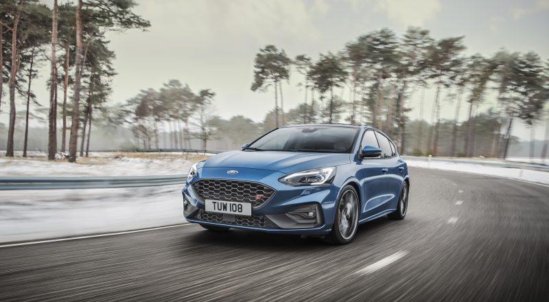 Novi športni Ford Focus ST in zvezda rapa Blakie sta se lotila edinstvenega izziva