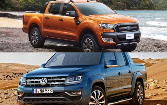 Prvi sadovi sodelovanja med Fordom in Volkswagnom