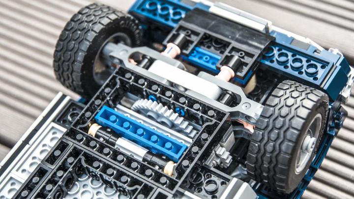 Osem osupljivih podrobnosti Lego Ford Mustanga GT