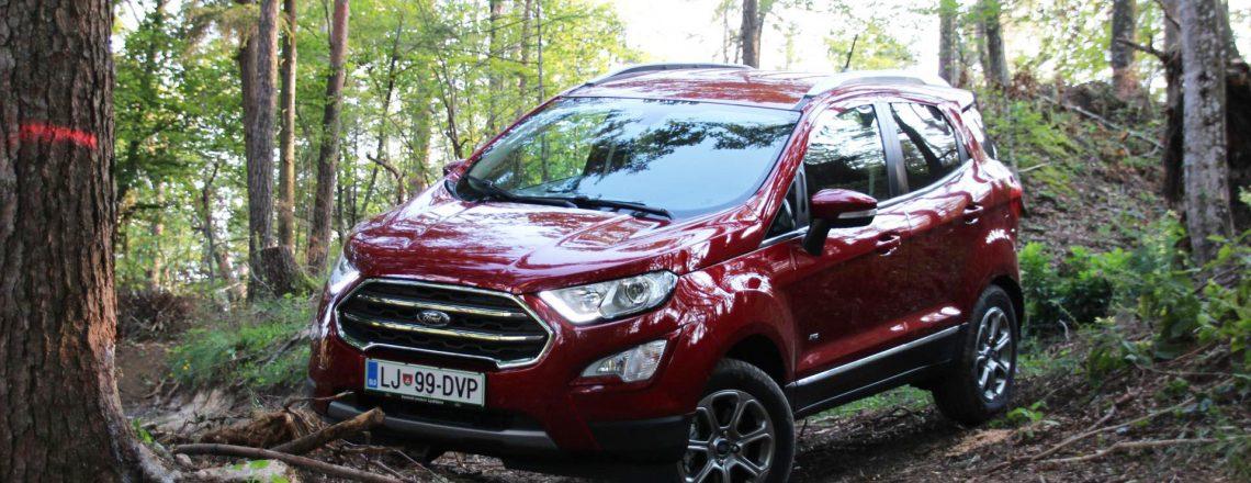 Test nove različice Forda EcoSporta