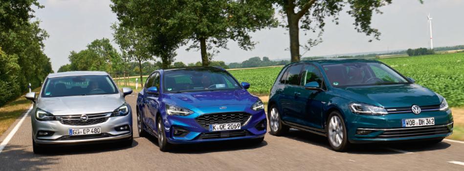 Nagrade novega Forda Focusa, ki potrjujejo njegovo kakovost