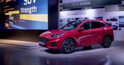 Ford razkril inovativnega 'crossoverja' Pumo