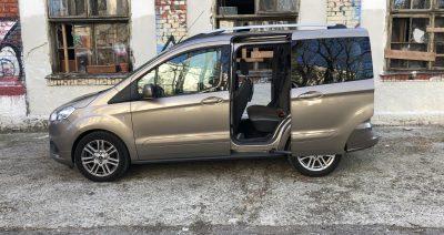 Tourneo Courier – Mali družinski prevoznik z veliko prostora