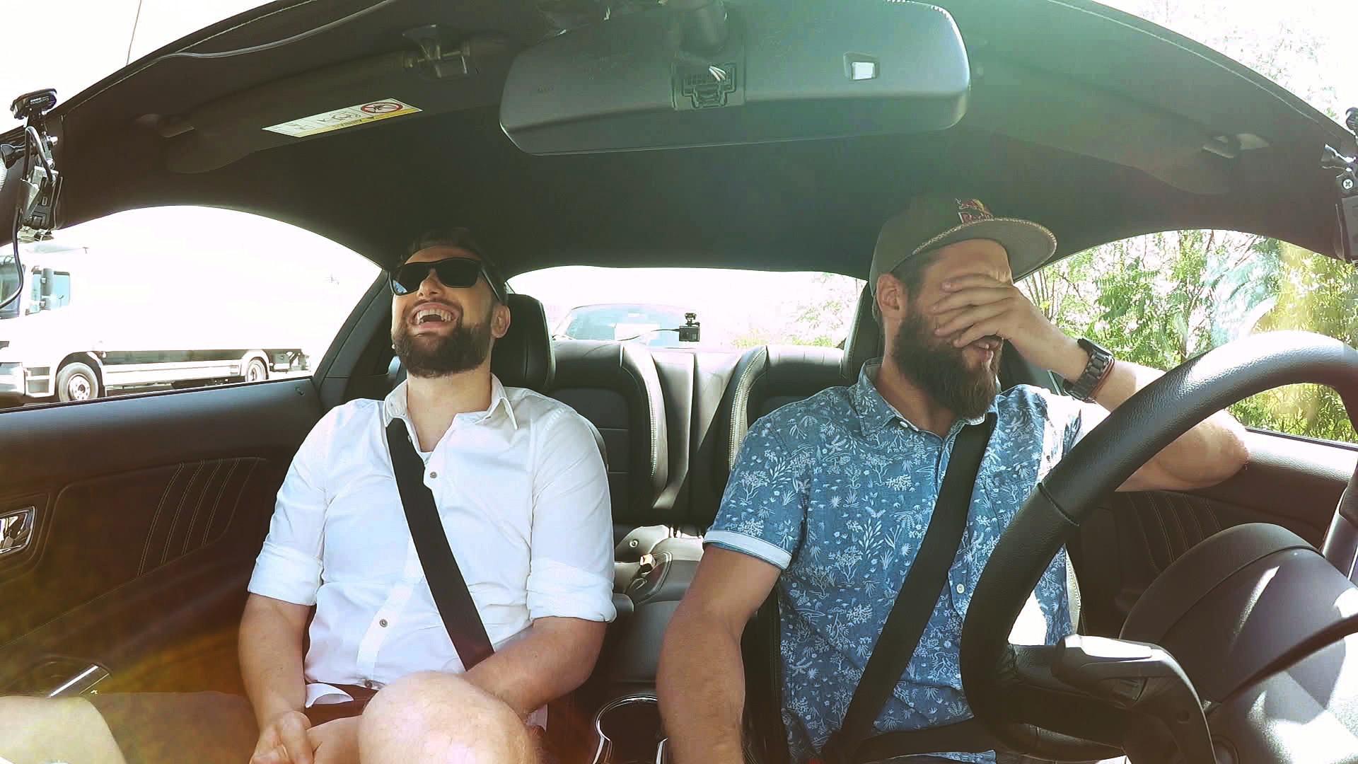#Neukrotljivi: kako se je na sovozniškem sedežu Mustanga znašel Perica Jerković