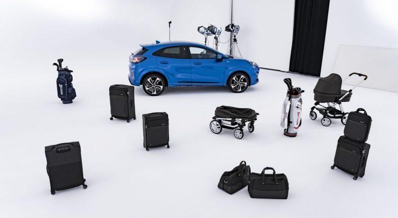 Ford Puma z inovativnim prtljažnim prostorom – MegaBox
