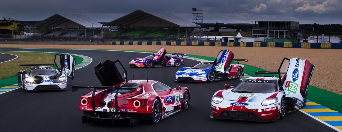 Fordi GT na 24-urni dirki Le Mansa