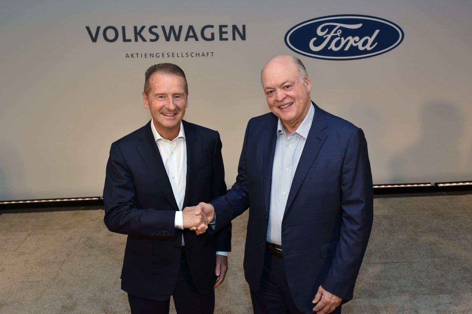Ford in Volkswagen skupaj pri električnih avtomobilih