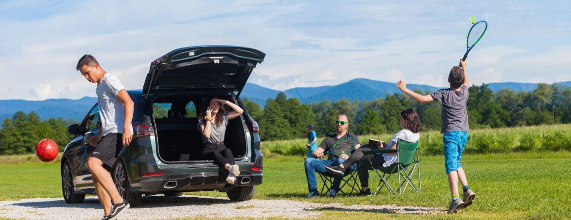Dinamičen avto za dinamične družine