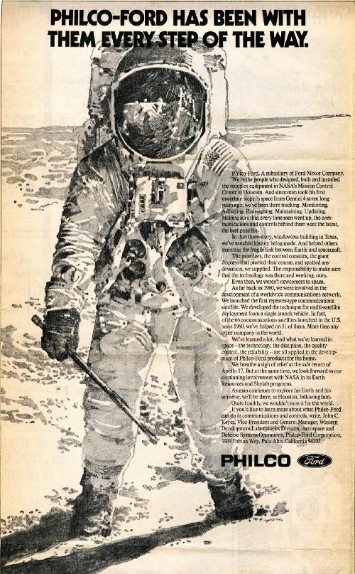 Kako je Ford prispeval k pristanku človeka na Luni