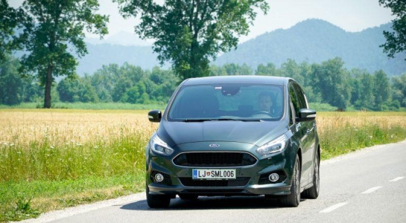 Športne ambicije Forda S-Maxa