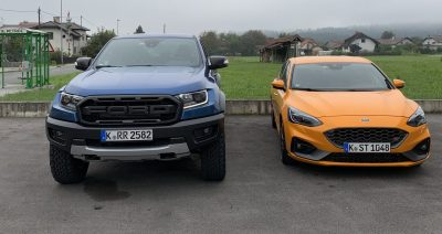 Ford Ranger Rapotor in Focus ST