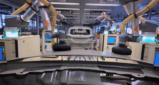 Ford je z roboti na Fiestini montažni liniji uvedel koreografijo