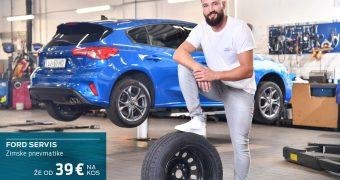 Ford menjava pnevmatik