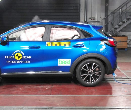 Ford Puma NCAP