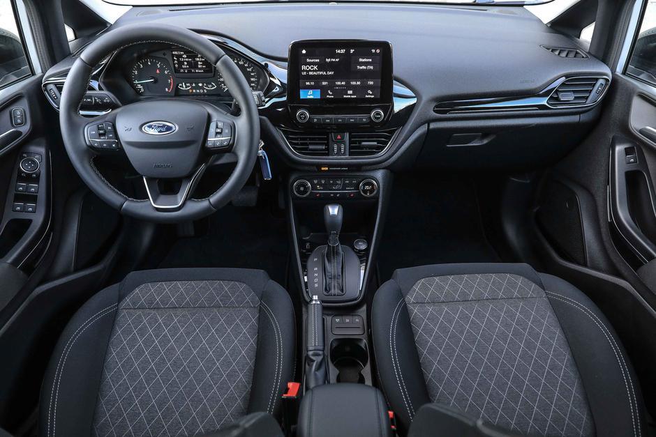 Test Ford Fiesta Active: Tale se ne ustavi kar tako