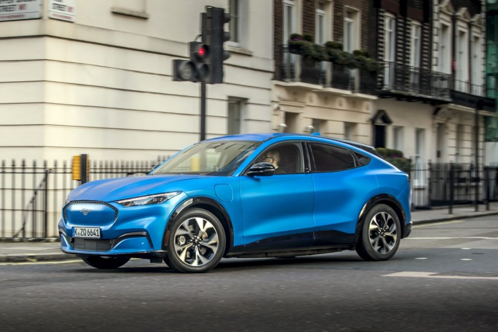 Ford Mustang Mach-E že v Evropi